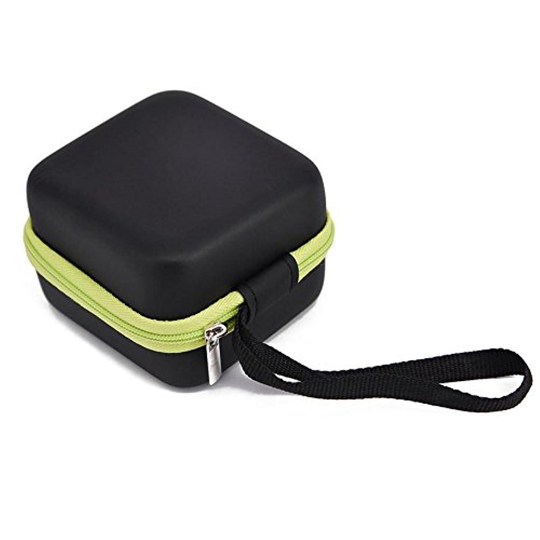 可能にするライナー特異性Farlong 7グリッド 5ML 精油貯蔵袋 エスニックスタイル オイル収納ボックス 人気の 精油 ケース 5色