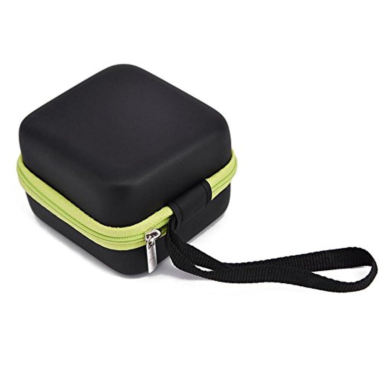 賛辞概念ウールFarlong 7グリッド 5ML 精油貯蔵袋 エスニックスタイル オイル収納ボックス 人気の 精油 ケース 5色