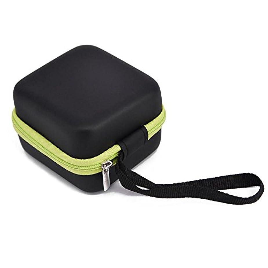 喜劇助言する撃退するFarlong 7グリッド 5ML 精油貯蔵袋 エスニックスタイル オイル収納ボックス 人気の 精油 ケース 5色