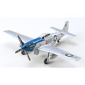 タミヤ 1/72 ウォーバードコレクション No.49 アメリカ陸軍 ノースアメリカン P-51D マスタング プラモデル 60749
