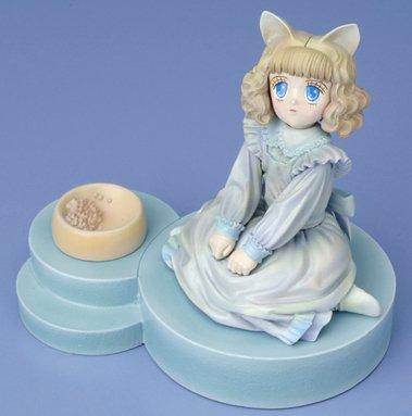 綿の国星 ちび猫 ビネットフィギュア (PVC塗装済み 完成品)