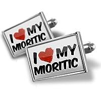 カフスボタンI Love My Mioritic...