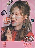 TWICE(トゥワイス )SANA サナ A4クリアファイル D 韓国 ap03