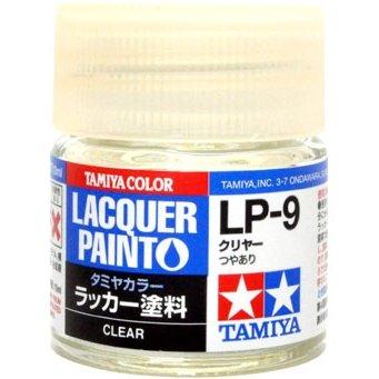 タミヤカラー ラッカー塗料 第1弾 LP-9 クリヤー