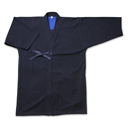 剣道屋 織刺調・紺ジャージ剣道着(上着)