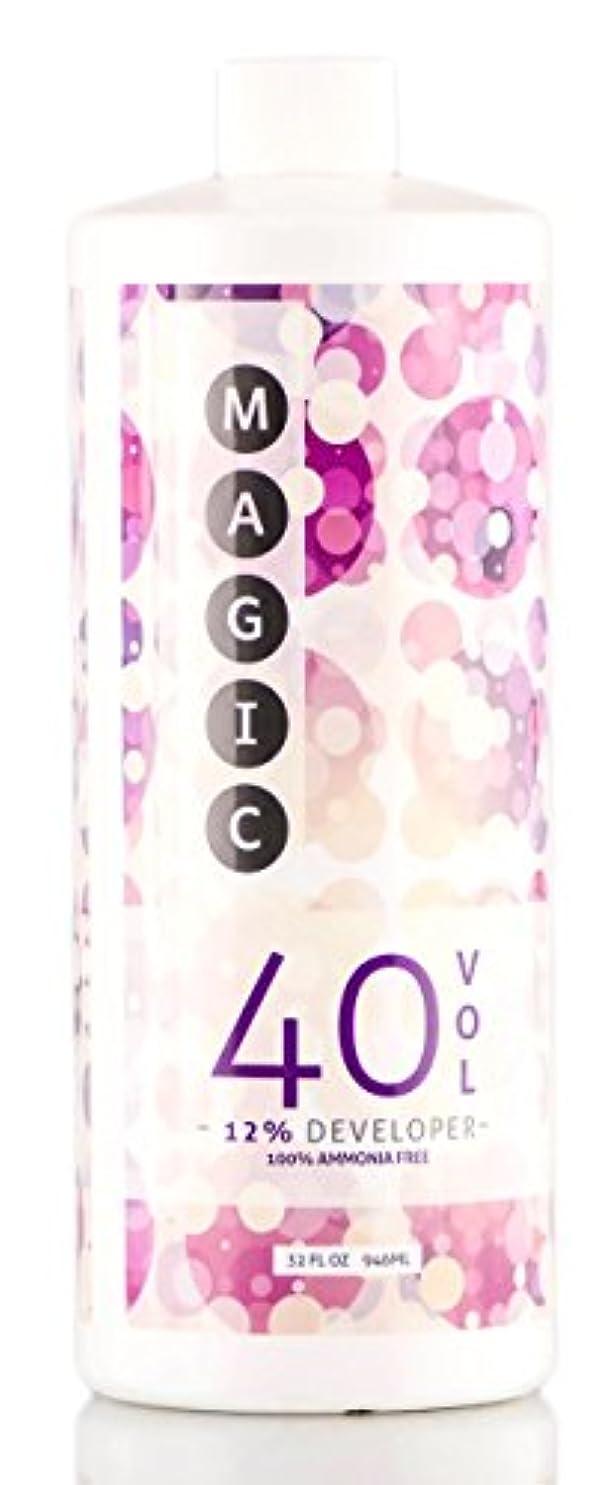キャンベラコントロール最大限Magic Lightener MAGICライトナー開発、アンモニアを含まない100% 12%40巻、32オンス