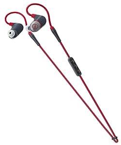 audio-technica SONICSPORT カナル型ワイヤレスイヤホン 防水仕様 スポーツ向け レッド ATH-SPORT4 RD