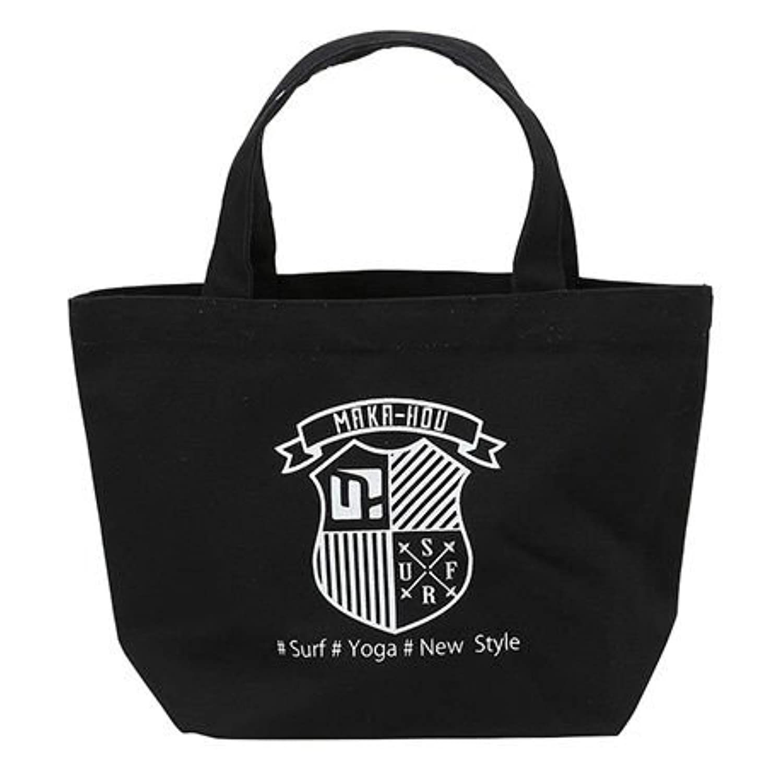 MAKA-HOU マカホー トートバッグ CANVAS TOTE BAG 92U04 キャンバス生地 鞄 かばん マカホウ ((0009)BLACK, 92U04)