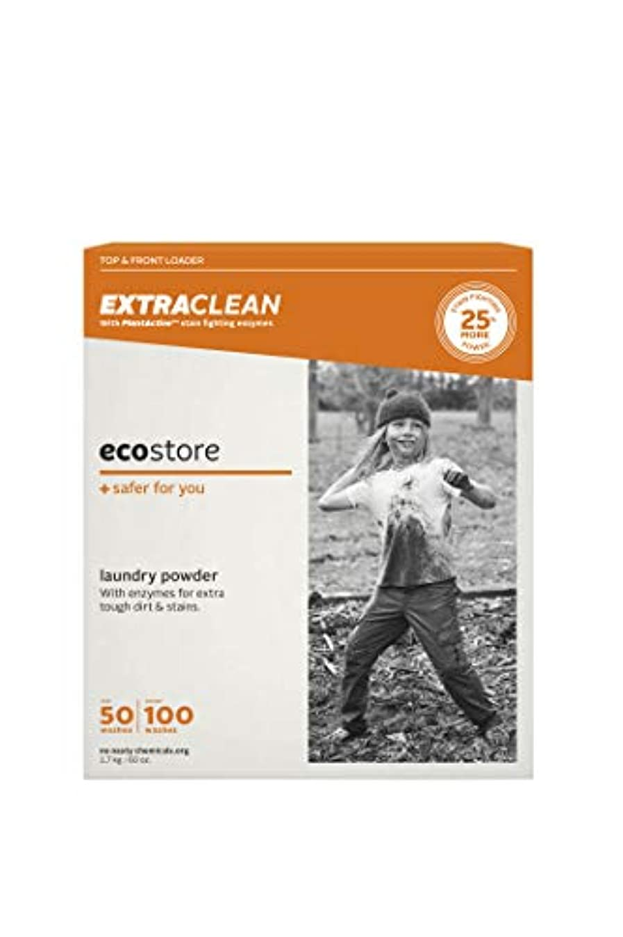 おなじみのロッジ道徳ecostore(エコストア) エクストラクリーン ランドリーパウダー 1.7kg