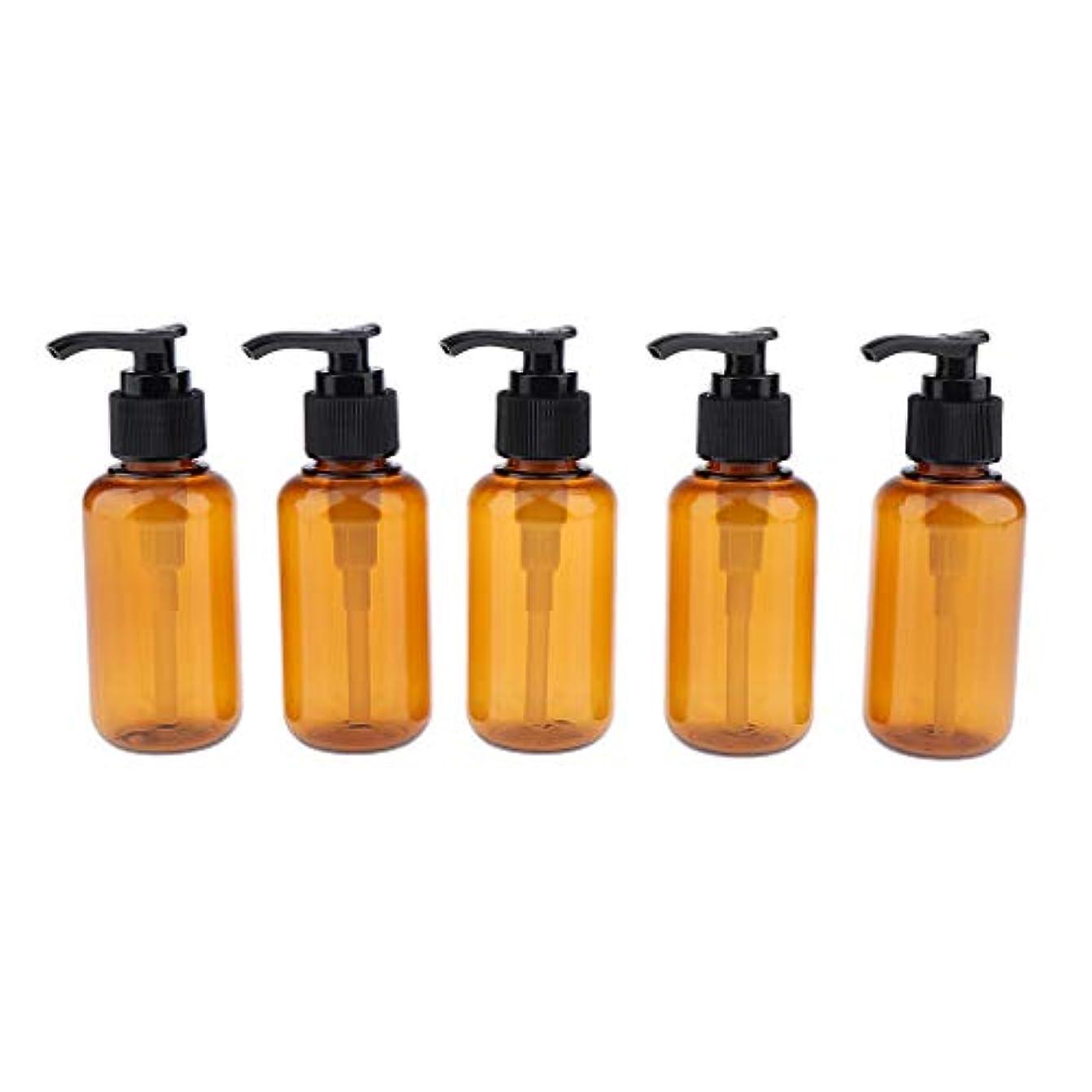 安西一般的に言えば普通に100/200/300ML ポンプボトル 空のボトル 詰替え容器 小分けボトル ディスペンサーボトル - 100ミリリットル