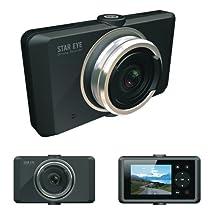 STAR EYE M868 720P ドライブレコーダー/500万画素、HD高画質、広角120度 4倍ズーム、エンドレス常時録画型、緊急録画モード、撮影モード、日本語メニュー