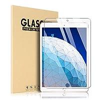 SpiritSun iPad Air 2019 / iPad Pro 10.5 ガラスフィルム 【 キズに強い 9H 】iPad Air 3 フィルム 高度透明 旭硝子9H 気泡防止 クラッチ防止 自動吸着 飛散防止処理 超薄0.3mm 2.5D 保護フィルム (iPad Air 3 / iPad Pro10.5 透明)