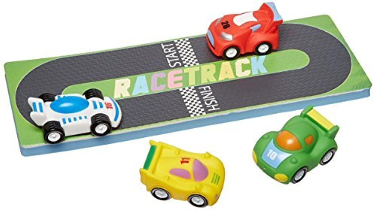Tubby Table Tubby Buddy's Little Racers Activity Mat & Toys by Tubby Table [並行輸入品]