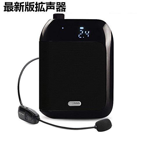 無線拡声器 2.4G技術内蔵 ワイヤレスポータブル拡声器 ハ...