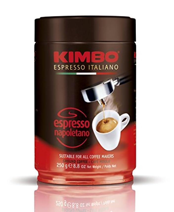拮抗可動式再集計キンボ エスプレッソ粉 ナポレターノ 缶 250g