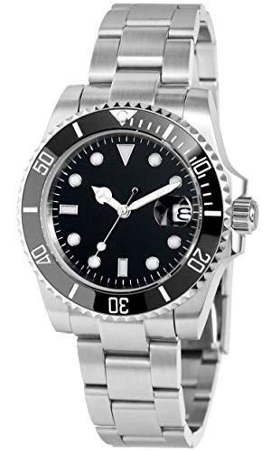 ノーロゴ 腕時計 自動巻き サブマリーナ NL-003SB3...