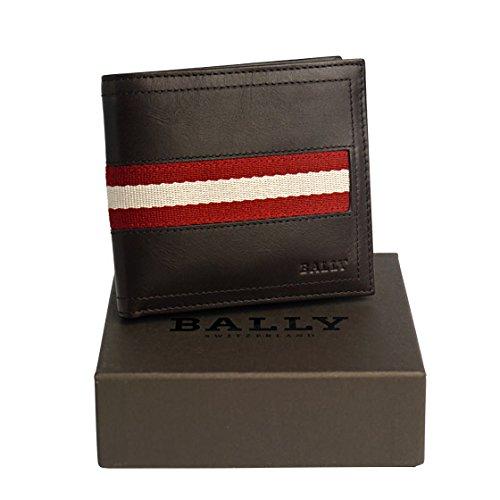 [バリー] BALLY TYE 二つ折り財布 小銭入れ付 チ...