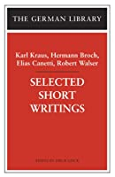 Selected Short Writings (German Library)