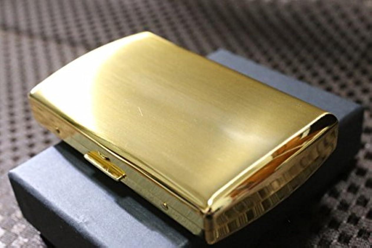 象ベッドを作る意義【PEARL】 パール ブランド 携帯灰皿 サテン仕上げ 真鍮ゴールド 日本製 アイコスにも