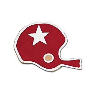 Ann Clark Football Helmet Cookie Cutter - 3.5 Inches - Tin Plated Steel by Ann Clark Cookie Cutters