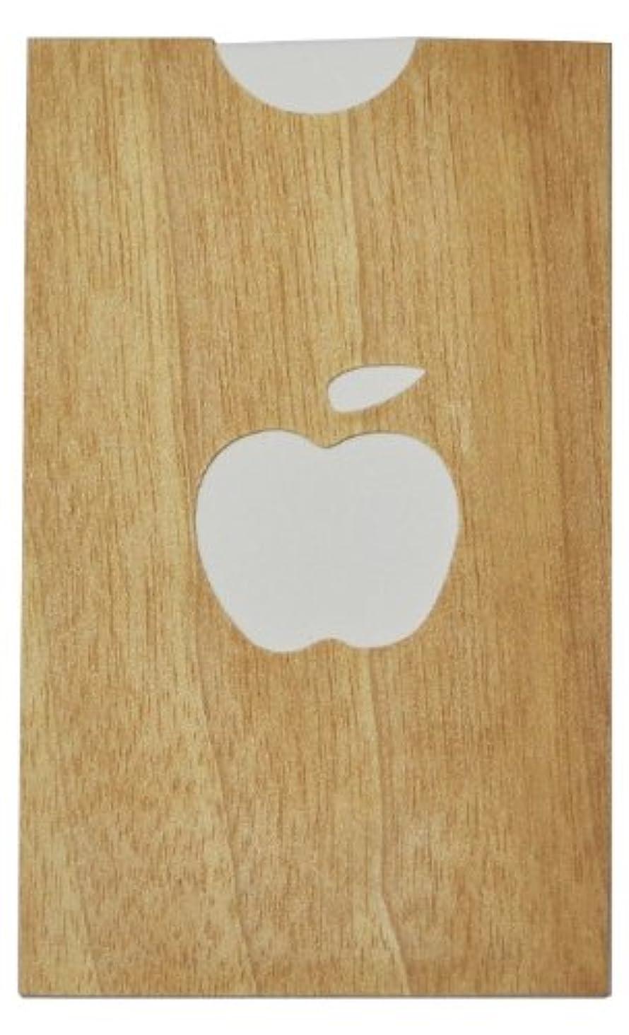 ワークショップ見分けるクラウドyuica(ユイカ) 香りのカード /りんご(ヒノキのシートケース+ムエット紙10枚)