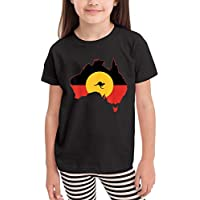 JIACHENG 2020 Aboriginal Flag T Shirt Australia Flag Aussie Generic Child Funny Tee