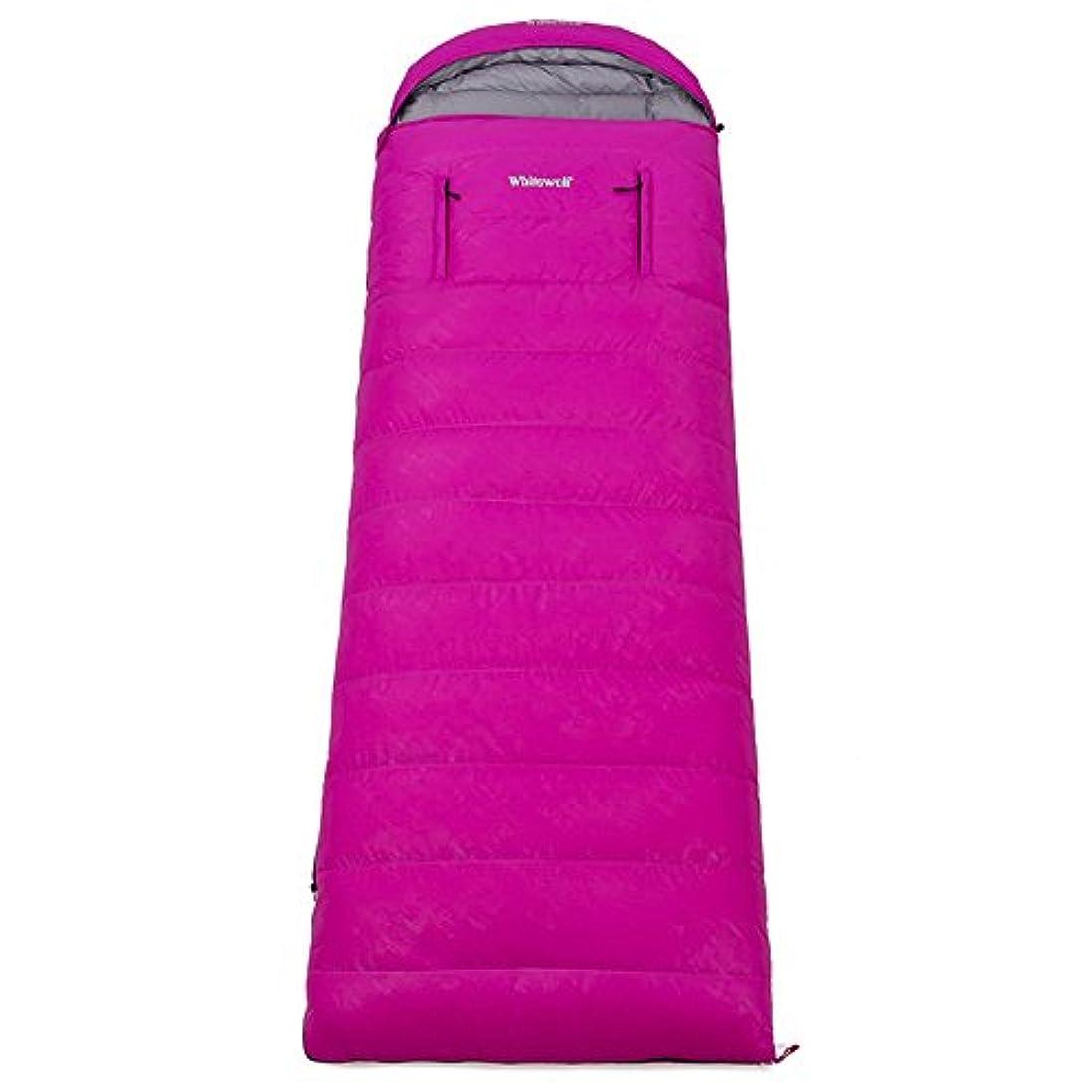 認める決定的検出Okiiting ポータブル寝袋暖かい寝袋二重寝袋通気性暖かい防水品質寝袋 うまく設計された