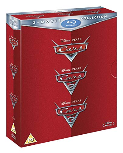 Cars: 3-movie Collection [Region Free] [Blu-ray]
