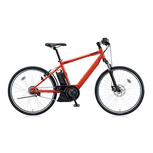 ブリヂストン(BRIDGESTONE) リアルストリーム(RealStream) RS6C47 E.ソリッドオレンジ 26インチ 電動自転車