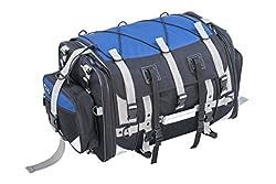 タナックス(TANAX) キャンピングシートバッグ2 モトフィズ(MOTOFIZZ) ネイビーブルー  MFK-221 (可変容量59-75ℓ)