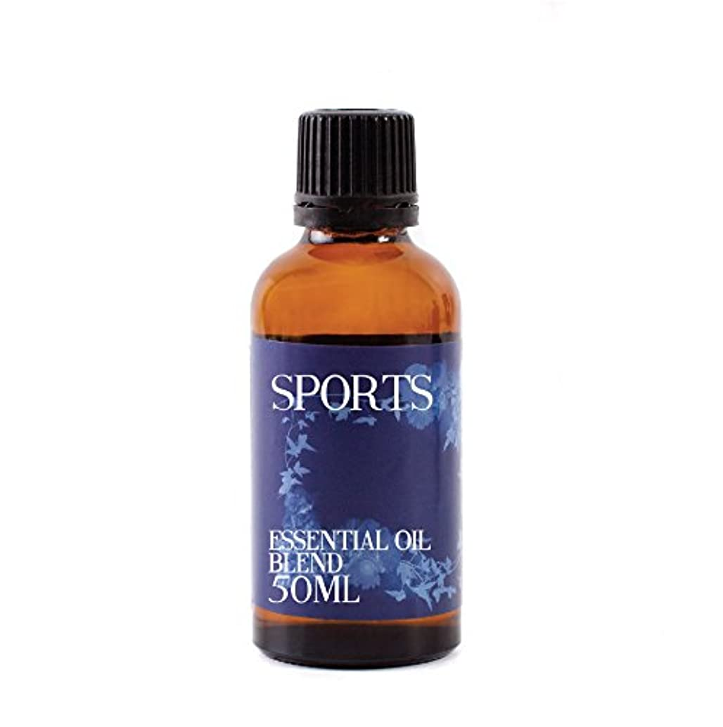 浅い花に水をやるフィードMystic Moments | Sports Essential Oil Blend - 50ml - 100% Pure