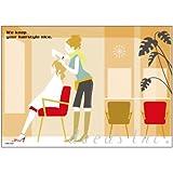 DEEDS ポストカード DM-K022 250枚 / ダイレクトメール DM はがき 美容室 サロン ネイル エステ