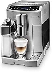 DeLonghi PrimaDonna Evo, Fully Automatic Coffee Machine, ECAM51055M, Stainless Steel