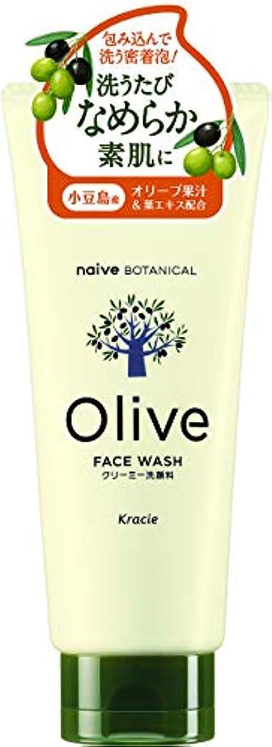 メトロポリタン影響する無許可オリーブの恵み ナイーブ ボタニカル クリーミー洗顔料130g