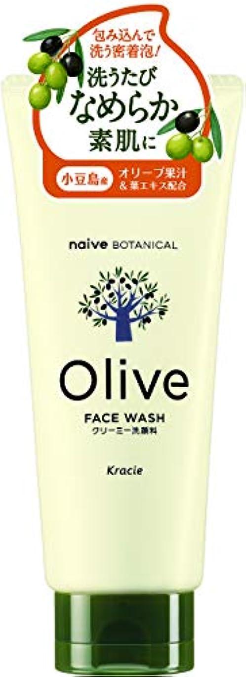 櫛モス奇跡的なオリーブの恵み ナイーブ ボタニカル クリーミー洗顔料130g