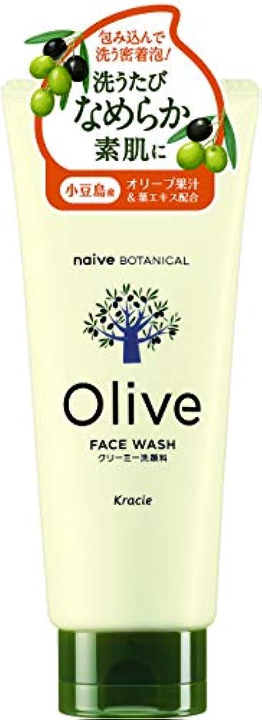 海藻有効化ソフトウェアオリーブの恵み ナイーブ ボタニカル クリーミー洗顔料130g