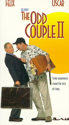 The Odd Couple II [VHS] [Import]