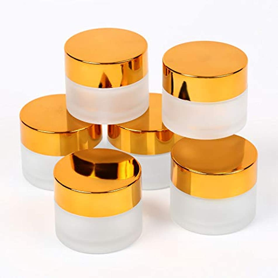 没頭する異なるモルヒネSolid Value ハンドクリーム 容器 遮光 中蓋付き ジャー セット アロマ ハンド クリーム 遮光瓶 ガラス 瓶 アロマ ボトル ビン 保存 詰替え 各種6個セット (15g 6個セット)