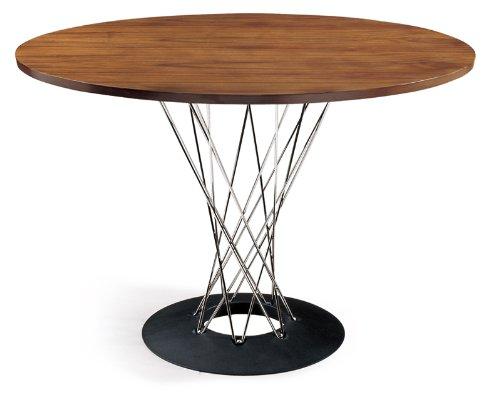 RoomClip商品情報 - イサムノグチ サイクロンテーブル 110Φ 天板ウォールナット 丸テーブル ダイニングテーブル コーヒーテーブル isamu noguchi