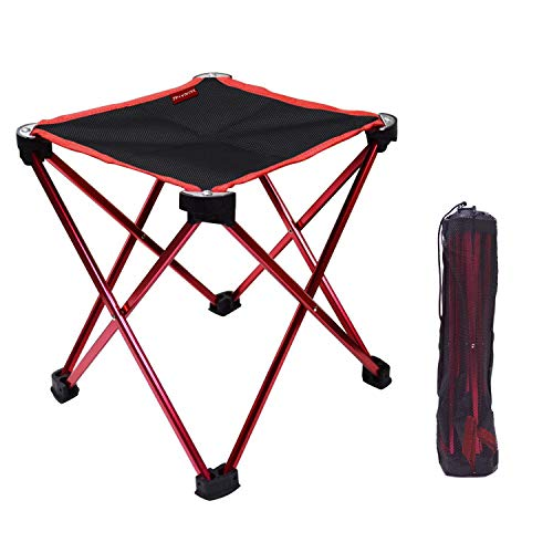 アウトドアチェア折りたたみ椅子コンパクト イス 持ち運び キャンプ用軽量 収納バッグ付き 折りた...