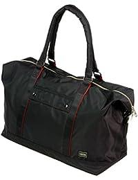 ポーターエルファイン(PORTER L-fine) PORTER×ILS共同企画 ボストンバッグ Boston Bag ブラック(裏地:レッド) Black(Backing:Red)