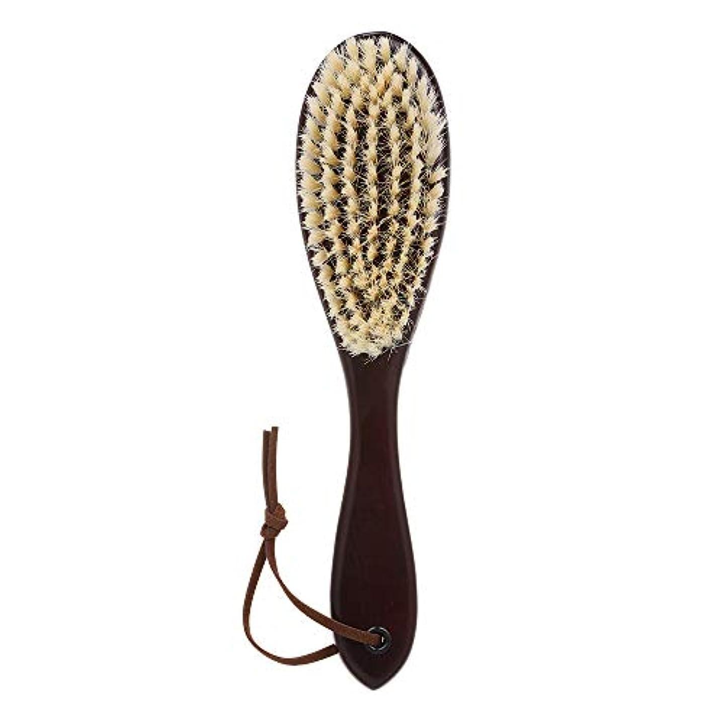摩擦さびたミキサーDecdeal 木製 ひげブラシ シェービングツール メンズ用 髭剃り シェービングブラシ