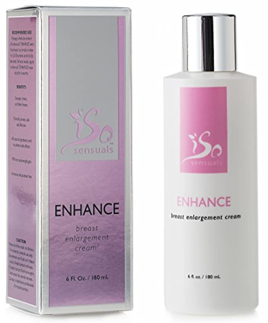 樫の木物足りない推進力IsoSensuals ENHANCE - Breast Enlargement Cream - 1 Bottle
