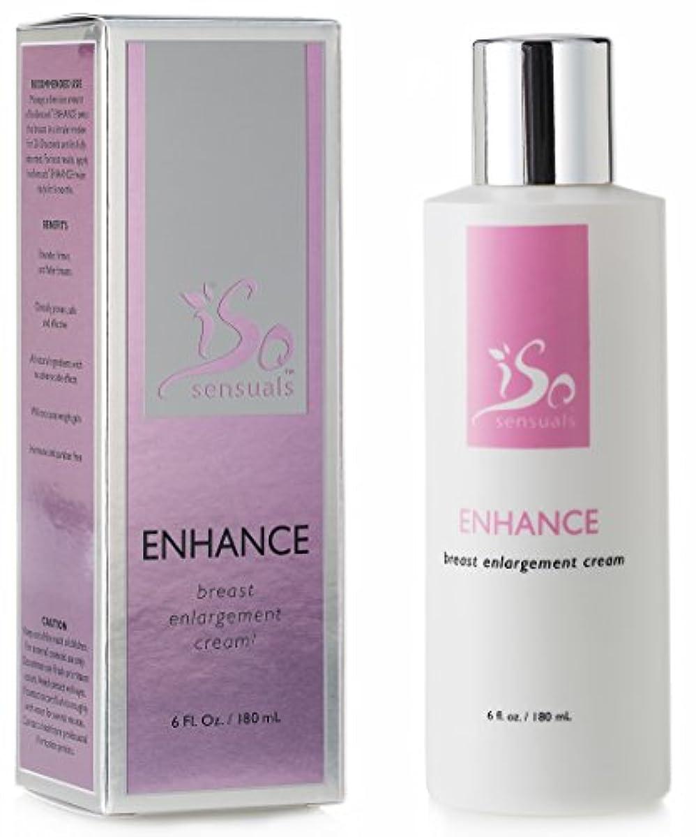 ぴったり理論的蚊IsoSensuals ENHANCE - Breast Enlargement Cream - 1 Bottle