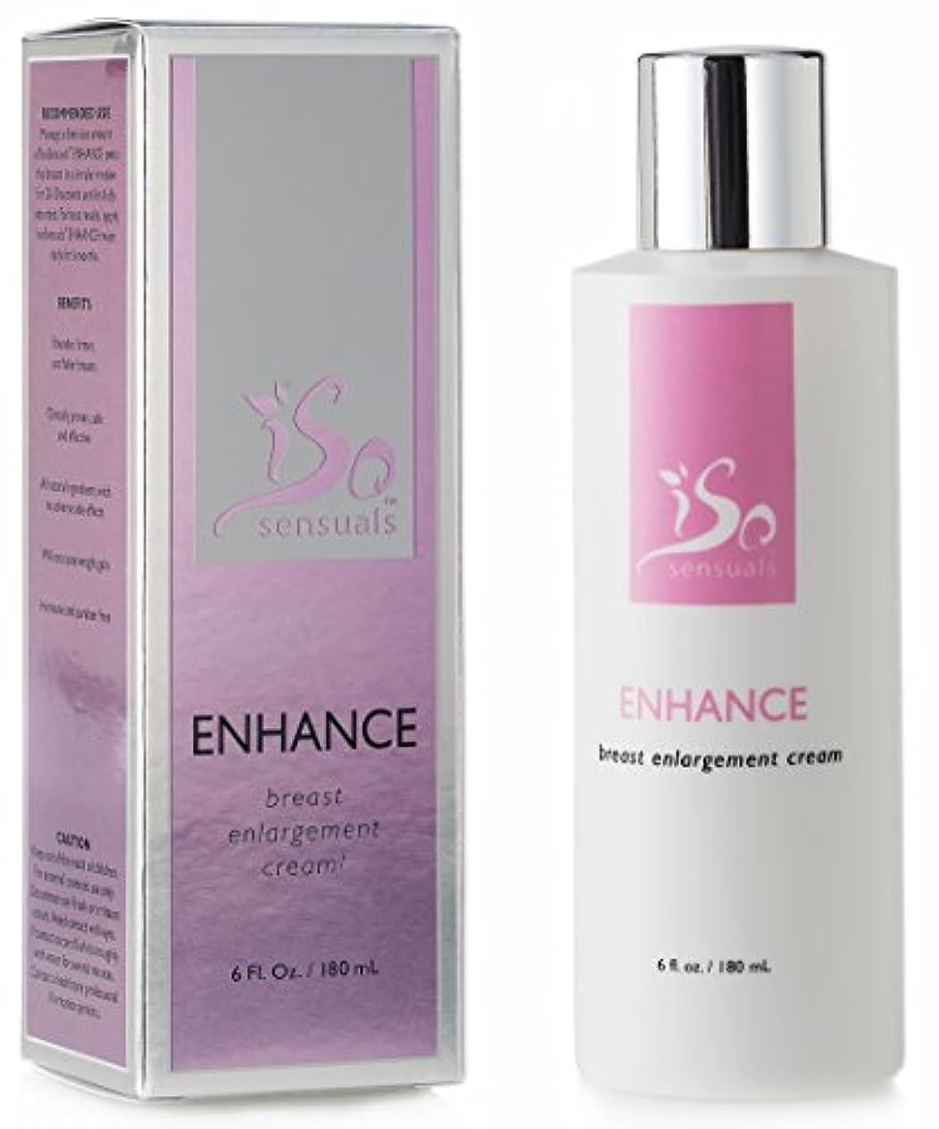 カストディアンビジュアルアルバニーIsoSensuals ENHANCE - Breast Enlargement Cream - 1 Bottle