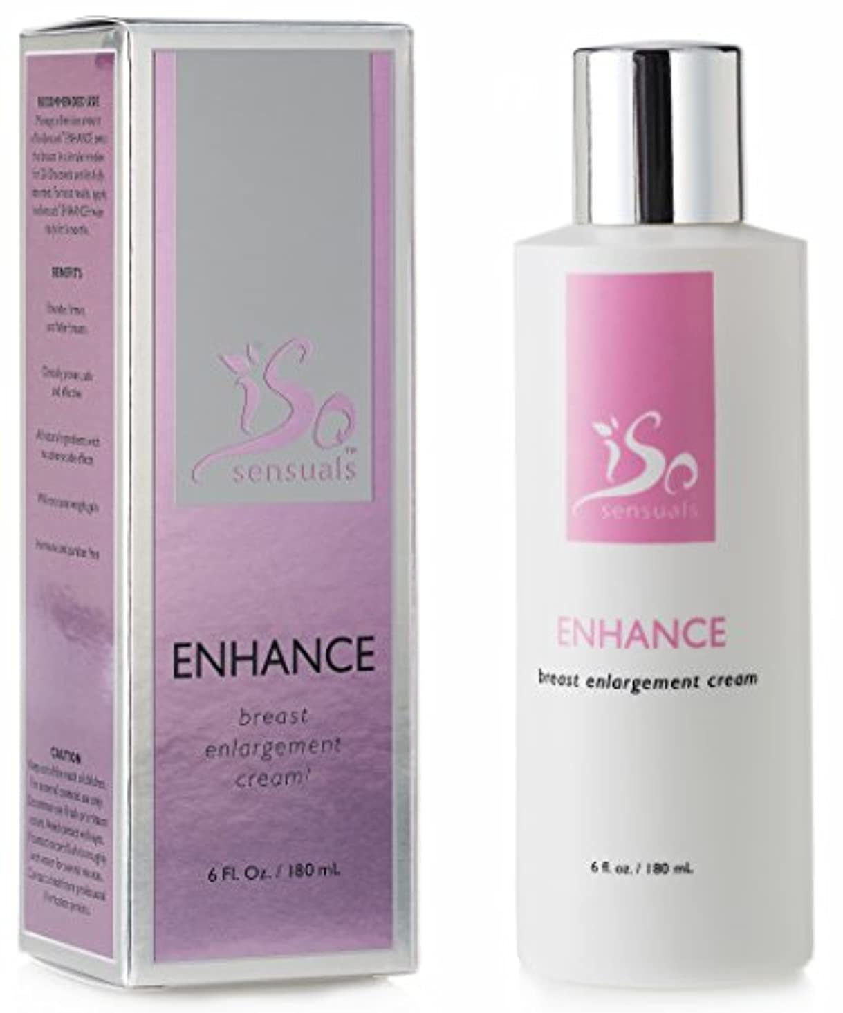 批判的に家タイムリーなIsoSensuals ENHANCE - Breast Enlargement Cream - 1 Bottle