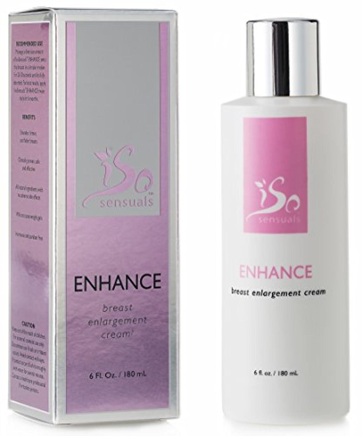 見る人免疫変えるIsoSensuals ENHANCE - Breast Enlargement Cream - 1 Bottle