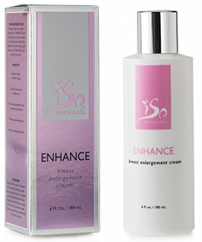 マイルド船外雑種IsoSensuals ENHANCE - Breast Enlargement Cream - 1 Bottle