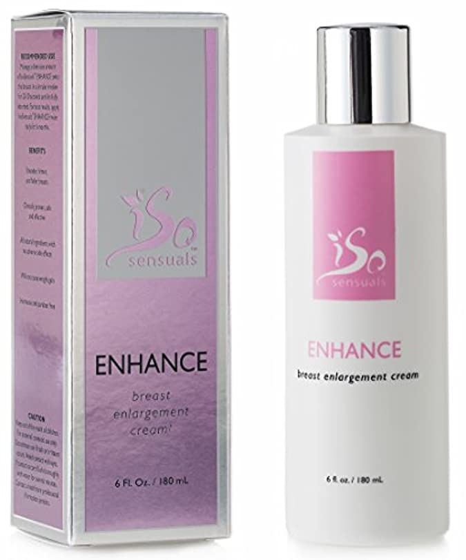 テープ出会い擁するIsoSensuals ENHANCE - Breast Enlargement Cream - 1 Bottle