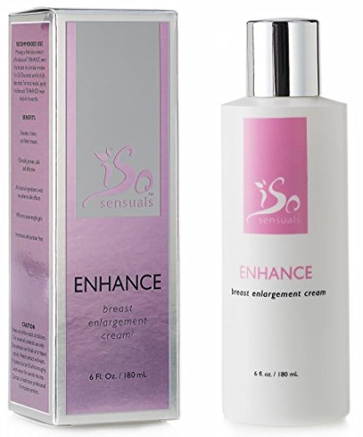 豊富な欲望植物学IsoSensuals ENHANCE - Breast Enlargement Cream - 1 Bottle